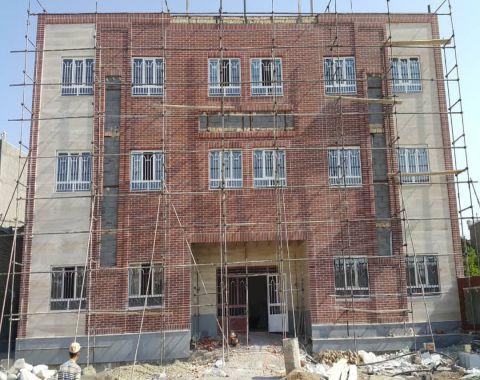 ساختمان جدید آموزشگاه